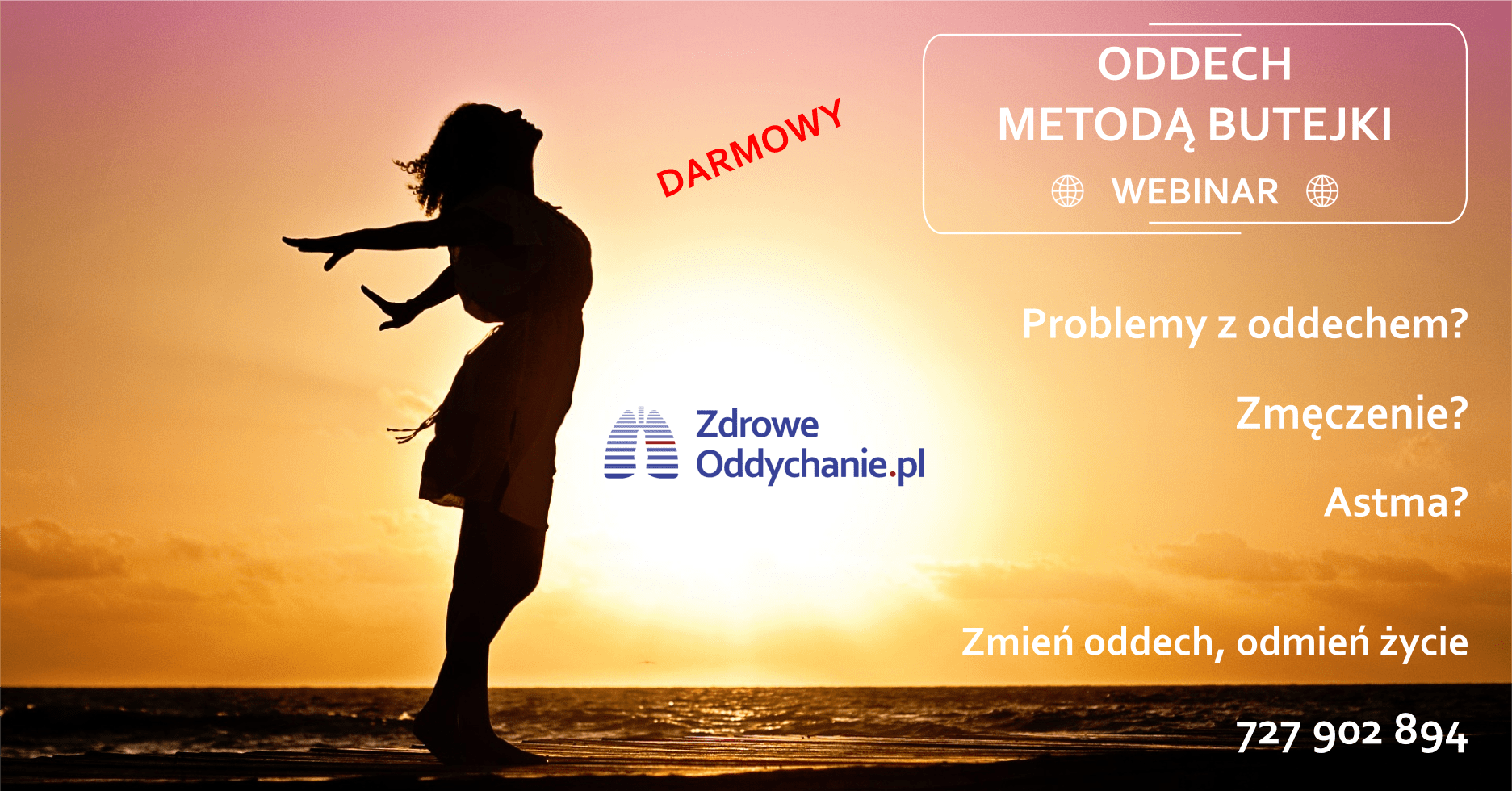 DARMOWY Webinar – oddech metodą Butejki